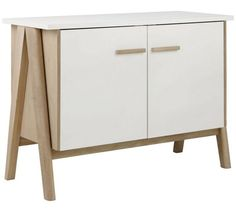 £295 Size H75, W104, D45cm. Buy Habitat Jerry Sideboard at Argos.co.uk, visit Argos.co.uk to shop online for Sideboards and dressers, Living room furniture, Home and garden https://uk.pinterest.com/pin/381891243387976648/