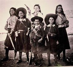 General Delarey's children