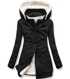 Kabát 8253 čierny