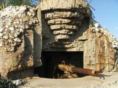 Abandoned Cold War bunker.
