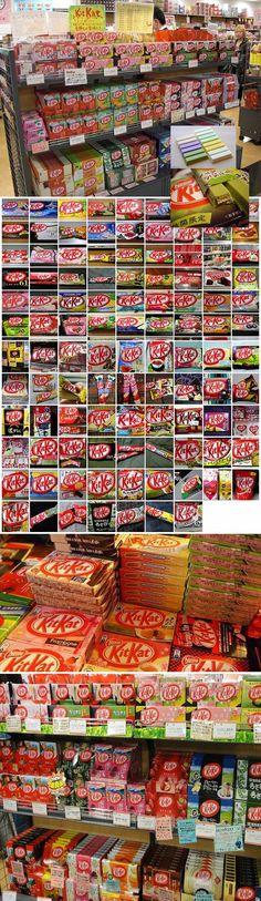 Kit Kat flavors in Japan