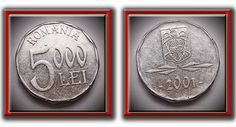 5000 Lei 2001 Teaching History, Seals, Super Cars, Coins, Money, Country, Paper, Silver, Blog