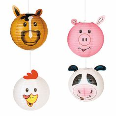 It's a barnyard of fun with these Farm Party Die Cut Cone Hats! Each set of hats contains 8 assorted barnyard animals to complete your farm-themed party . Farm Animal Party, Farm Animal Birthday, Party Animals, Farm Birthday, 2nd Birthday Parties, 1st Birthdays, Animal Fun, Animal Themed Birthday Party, Birthday Ideas