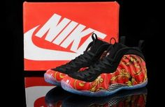 """594267bf2d3 Nike Air Foamposite One """"Red Supreme"""" New Nike Shoes"""