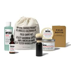 Based on professional barbershop necessities, Imperial Barber's grooming products bring time-honored tricks of the trade into the home