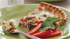 Ham-and-Tomato Pie - Savory Tomato Pie Recipes - Southern Living…