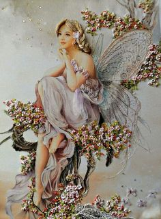 Wonderful Ribbon Embroidery Flowers by Hand Ideas. Enchanting Ribbon Embroidery Flowers by Hand Ideas. Band Kunst, Fairy Pictures, Ribbon Art, Beautiful Fairies, Flower Fairies, Silk Ribbon Embroidery, Angel Art, Fairy Art, Faeries
