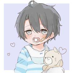 Cute Anime Chibi, Cute Anime Boy, Anime Kawaii, Kawaii Chibi, Chibi Boy, Anime Boys, Anime Child, Haikyuu Characters, Anime Characters