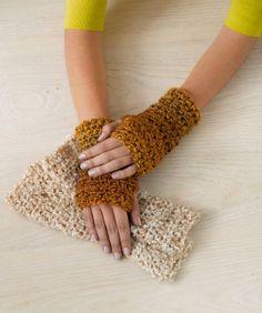 Free Crochet Wrist Warmer Pattern.