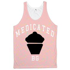 BAKED GOODS MEDICATED SPRINKLES JERSEY TANK #HOT #SHIT FOR THE #SUMMER #GETSTONED IDIOTS......LOL