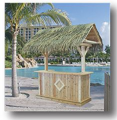 Sunset Bamboo and Tiki Thatch offers a wide array of Palm Thatch, Palapas Umbrellas, Bamboo and Tiki Bar Hut building materials. Bamboo Panels, Bamboo Fencing, Backyard Bar, Patio Bar, Tiki Hut, Tiki Tiki, Mermaid Pool, Rustic Restaurant, Swimming Pools Backyard