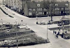 spoorweg achter de hove 1964 Historisch Centrum Leeuwarden - Beeldbank Leeuwarden