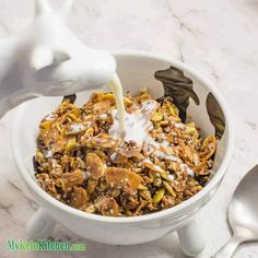 Keto cereal ready to eat