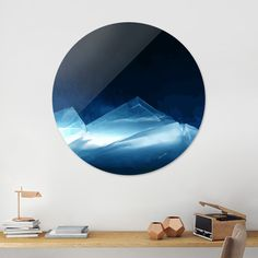 Discover «DEEP BLUE», Limited Edition Disk Print by Rolando Duartes - From 59€…