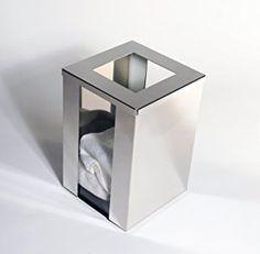 Handtuchablage, Abwurfbehälter für Gästetücher - Made in Germany