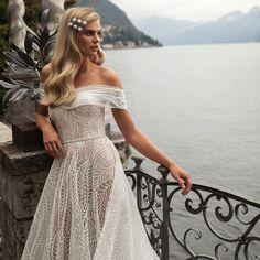 Daydreaming #julievino #vakkowedding #bridal Daydream, Shoulder Dress, Bridal, Dresses, Fashion, Gowns, Moda, Fashion Styles, Brides