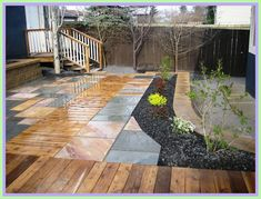 wood patio vs paver patio-#wood #patio #vs #paver #patio Please Click Link To Find More Reference,,, ENJOY!! Natural Stone Wall, Natural Stones, Privacy Planter, Patio Privacy, Wood Patio, Deck Patio, Patio Grande, Wooden Sofa Set, Stone Retaining Wall