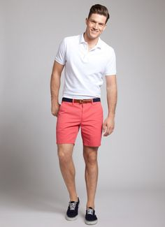 Mens Salmon Shorts - The Else