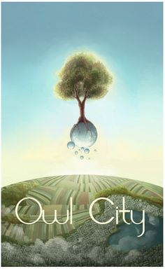 I love all of the album and concept art from owl city, too. It's all so fantastical and sublime.