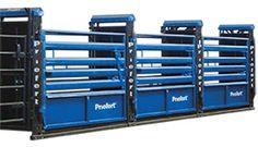 Priefert Bucking Chutes - Blue