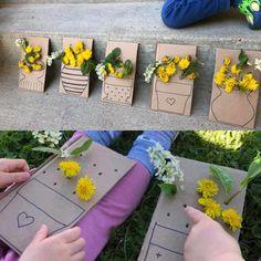 Toddler Preschool, Toddler Crafts, Book Week Costume, Developmental Toys, Paper Crafts For Kids, Eyfs, Nature Crafts, Business For Kids, Reggio