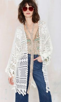 Get ready to throw the Big Wave Kimono over all of your festival favorites.