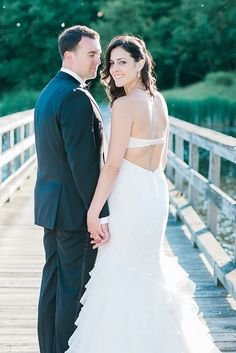 Bride and groom   © Nicole DeTone Photography