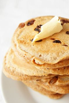 healthy scotch pancakes with sultanas
