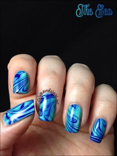The Nail Art Guild | The Sea