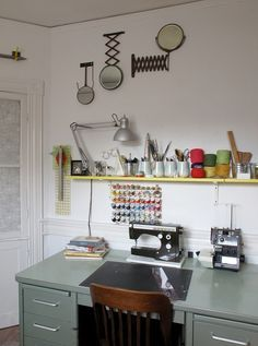 Sewing Machines, accessories & workspaces on Pinterest