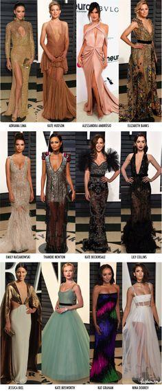 40 Looks das After Parties do Oscar 2017