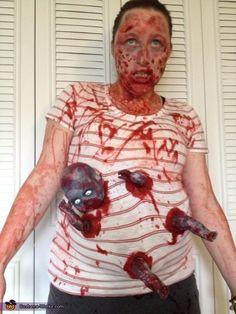 Pregnant Zombie - 2013 Halloween Costume Contest