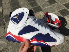52197a0a4f04 Air Jordan 7 Tinker Alternate Olympic Release Date - Sneaker Bar Detroit  Jordan 7