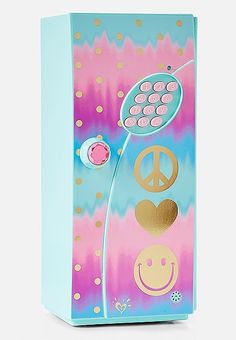 Justice is your one-stop-shop for on-trend styles in tween girls clothing & accessories. Shop our Initial Ombre Foil Dot Mini Locker. Justice Accessories, Doll Accessories, Locker Accessories, Tween Girls, Toys For Girls, Cute Locker Ideas, 10th Birthday, Birthday Gifts, Shop Justice