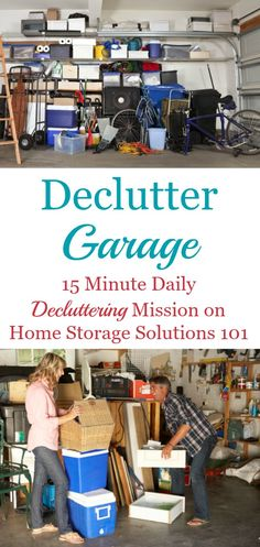 How to declutter you
