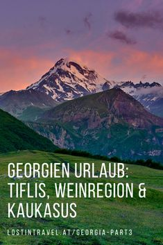 Travel guide for your Travel to Georgia Tbilisi and ideas for your travel to Georgia and what to do in the wine region in Georgia and the Georgian Caucasus. Road Trips, Travel Guide, Traveling By Yourself, Georgia, Travel Photography, Wine, Videos, Travel Inspiration, Mountains