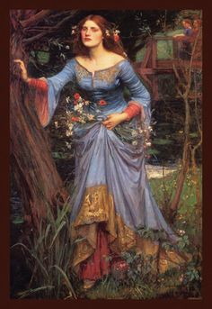 Ophelia, by John William Waterhouse