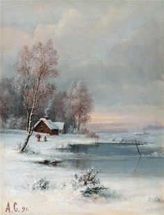 ALEKSEY SAVRASOV (1830-1897)