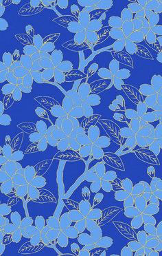camellia smalt 20th century papers de little greene papier peint chambre peindre chambres. Black Bedroom Furniture Sets. Home Design Ideas