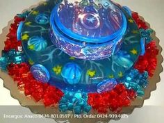 Gelart, arte en tu paladar... Gelatinas 3D, Bellisimas y riquisimas - YouTube