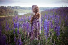 I love...purple, landscapes, and cozy sweaters.