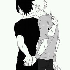 Naruto x Sasuke. Décidez-vous les gars : en colère ?