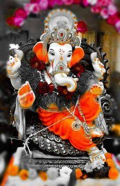 Ganesh Chaturthi Photos, Ganesh Chaturthi Decoration, Happy Ganesh Chaturthi Images, Jai Ganesh, Ganesh Lord, Shree Ganesh, Ganesh Idol, Ganesha Art, Ganesha Sketch