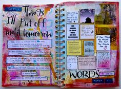 30 days of lists, by Nicole Maki  #journal