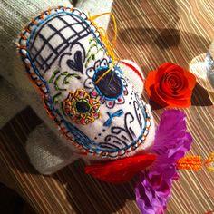 'Día de los Muertos' sugar skull sock monkeys Part 4