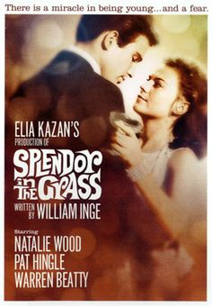 Splendor in the Grass is a 1961 Drama, Romance film directed by Elia Kazan and starring Natalie Wood, Warren Beatty. Natalie Wood, Old Movies, Great Movies, Vintage Movies, Elia Kazan, Little Dorrit, Real Life, Warren Beatty, Splendour In The Grass