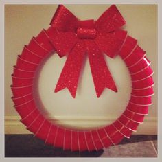 Red solo cup wreath!