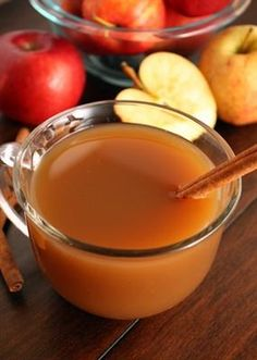 10 Hot Drinks You Can Make in a Crock Pot: Mulled Apple Cider