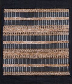 Embroidered Miao Textile by Anonymous(Chinese Textile)