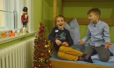 Christmas fun at Germany For Kids. Free time in our kids accommodation.